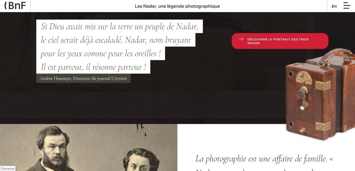 exposition site internet, nouveau modèle pour les expositions