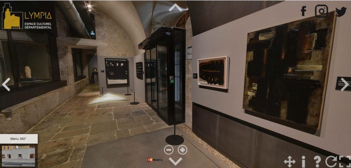 visite à 360°, nouveau modèle pour les expositions